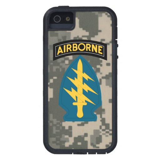 "Army Special Forces ""Green Berets"" iPhone 5 Case"