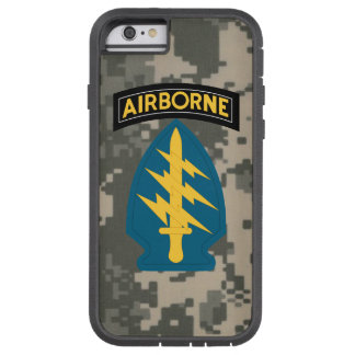 """Army Special Forces """"Green Berets"""" Digital Camo Tough Xtreme iPhone 6 Case"""