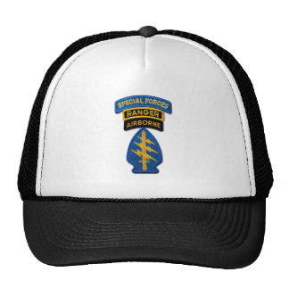 Army Special Forces Green Berets Rangers SF SFG Trucker Hat
