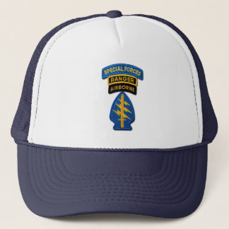 army special forces ranger veterans patch hat