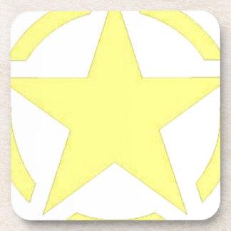 army star beverage coasters
