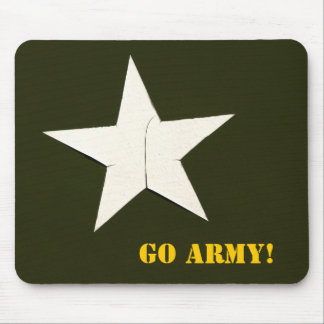 army star, Go Army! Mouse Pad
