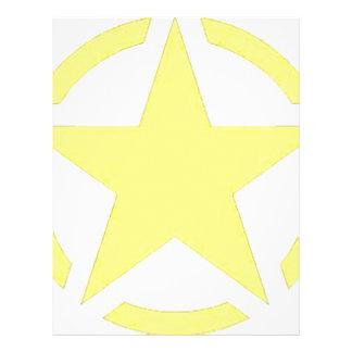 army star letterhead