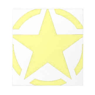 army star notepad