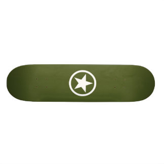 Army Star Skateboard Deck