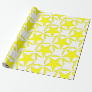 army star wrapping paper