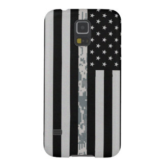 Army Thin Digi Camo Line Flag Galaxy S5 Case