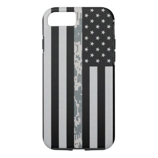 Army Thin Digi Camo Line Flag iPhone 7 Case