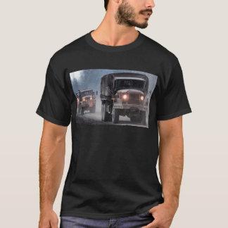 Army Truck Convoy T-Shirt
