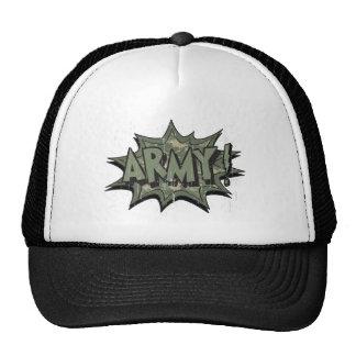 ARMY TRUCKER HAT