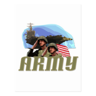 ARMY Tshirts and Gifts Postcard