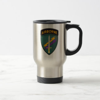 Army USACAPOC(A) Psychological Operations Command Travel Mug
