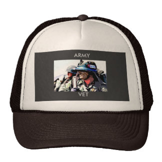 Army Vet Trucker Hat