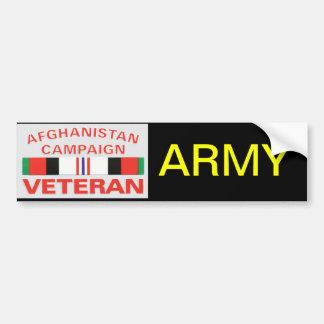 Army Veteran Bumper Sticker