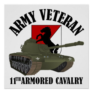 Army Veteran - M-48 Poster