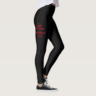 """""""ARMY VETERAN/SKYDIVER"""" Women's Leggings"""