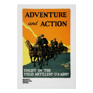 Army Vintage Poster 17