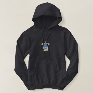 Army War College Crest Embroidered Hoodie