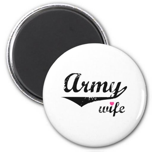 Army Wife Magnets