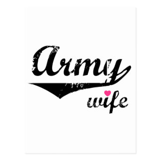 Army Wife Post Cards