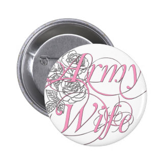 Army wife rose buttons