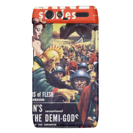 Army with Funn y Helmets Droid RAZR Cases