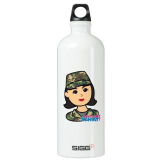 Army Woodland Camo Head Medium SIGG Traveler 1.0L Water Bottle