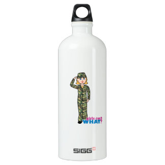 Army Woodland Camo Light Blonde SIGG Traveler 1.0L Water Bottle