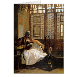 Arnaut Smoking by Jean Leon Gerome Card