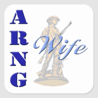 ARNG Wife Stickers