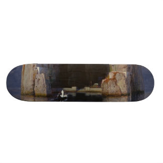 Arnold Böcklin - The Isle of the Dead Skate Deck