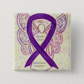 Arnold-Chiari Malformation Awareness Ribbon Pin