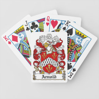 Arnold Family Crest Playing Cards