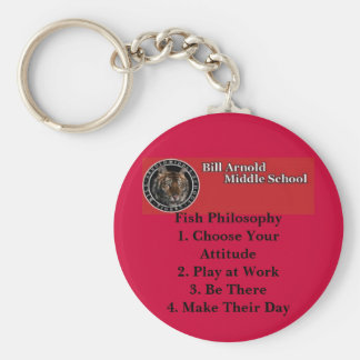 Arnold Middle School -- Fish Philosophy Keychain