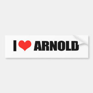 Arnold Schwarzenegger Bumper Sticker