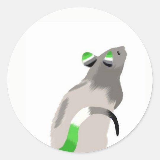 Aro Rat Sticker
