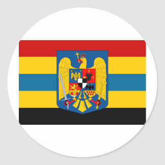 Aromanians during WWII, Romania Round Sticker