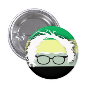 Aromantics for Bernie Sanders 1 Inch Round Button