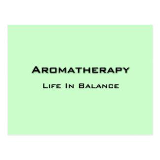Aromatherapy - Black text Postcard
