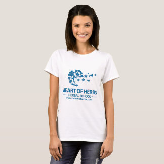 Aromatherapy Makes Scents Heart of Herbs Logo T T-Shirt