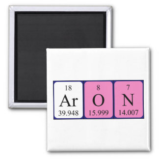 Aron periodic table name magnet