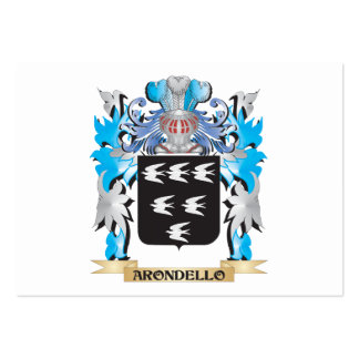 Arondello Coat Of Arms Business Card Templates
