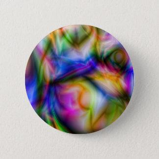 Arora Borialus Marbleized Colors 2 Inch Round Button