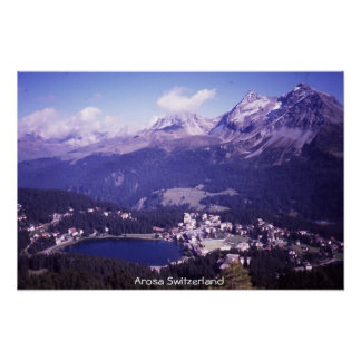Arosa Switzerland Poster