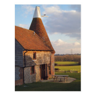 Around Britain,    Kentish Oast House Postcard