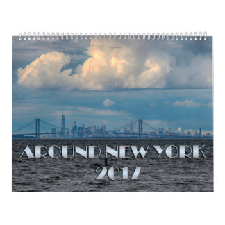 Around New York Calendar 2017