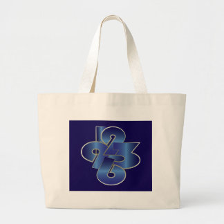 around the clock large tote bag