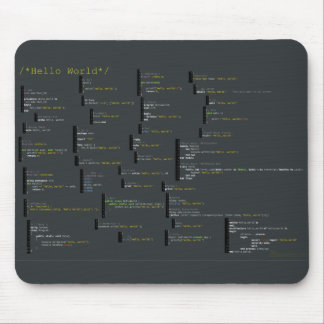 Around the Hello World Mousepad