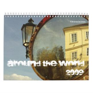 Around the World 2009 Calendar