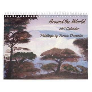 Around the World - 2017 Calendar
